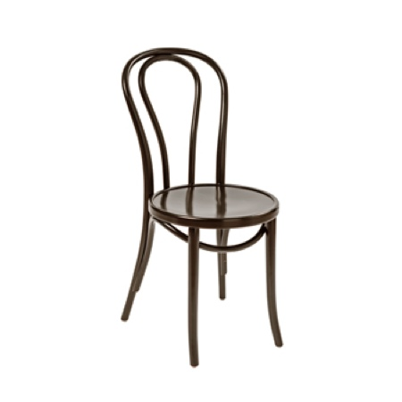 Brown Bentwood Chair With Beige Rattan Seat Aluminium Chair Hire Co