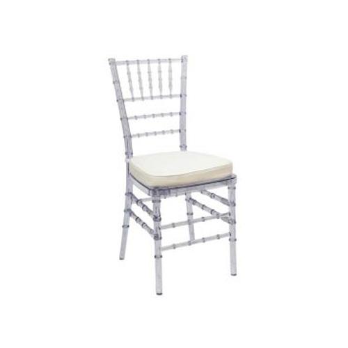 White Tiffany Chair Amp White Cushion Chair Hire Co